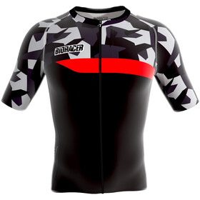 Bioracer Spitfire Bike Jersey Shortsleeve Men grey/black
